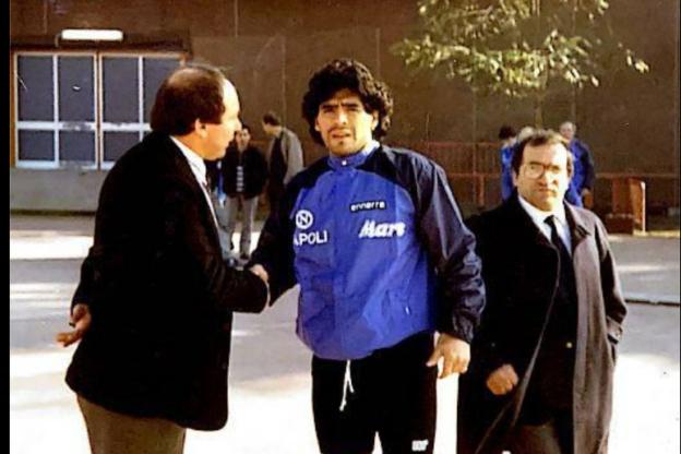 """Diego Armando Maradona, il """"Diez"""" nel cuore anche dei valsusini"""