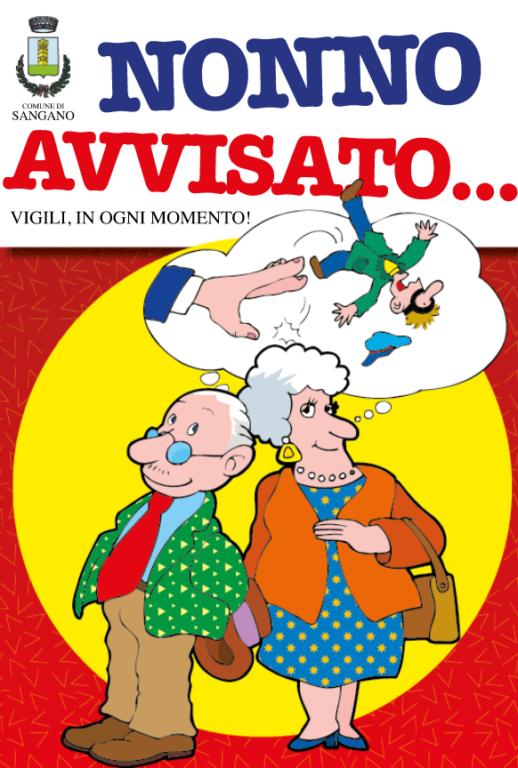 """A Sangano è arrivato """"Nonno avvisato"""", il giornalino contro le truffe"""