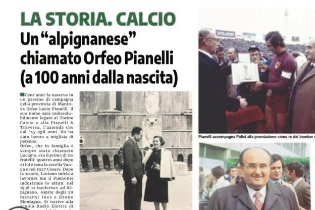 """Un """"alpignanese"""" chiamato Orfeo Luciano Pianelli"""