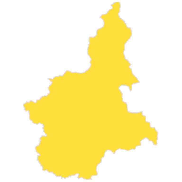 Il Piemonte rimarrà in zona gialla per almeno un'altra settimana