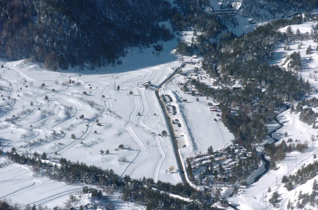 A Bardonecchia si apre la pista da sci di fondo