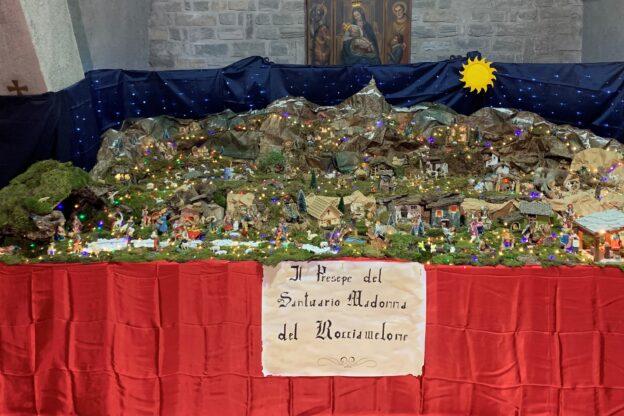 Il presepe al Santuario della Madonna del Rocciamelone è visitabile tutte le domeniche