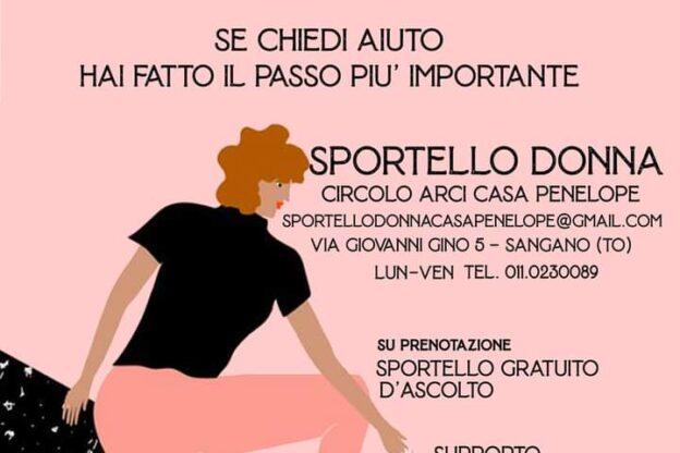 """A Sangano c'è lo """"Sportello Donna"""" per le donne vittime di violenza"""