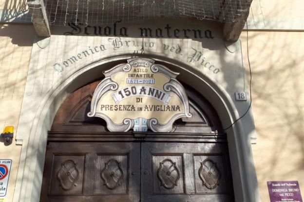 Avigliana, l'asilo Picco è pronto a festeggiare i suoi primi 150 anni