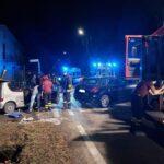 Giaveno, grave incidente fra via Coazze e via Bardonecchia: due giovani feriti