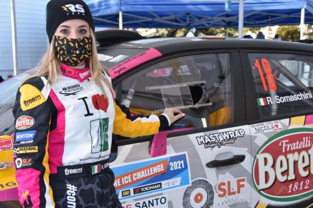 Rally, in pista con Rachele Somaschini per #CorrerePerUnRespiro