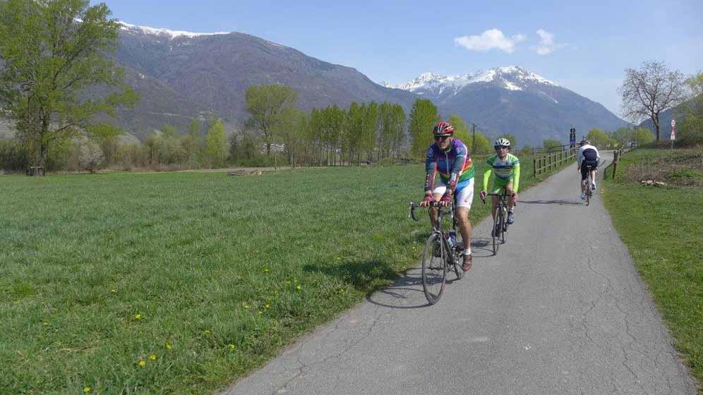 Via Francigena, in bici fino a Venezia e Trieste passando per la Val di Susa