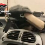 Susa, i Carabinieri sequestrano 6,5 chili di cocaina e arrestano due corrieri della droga