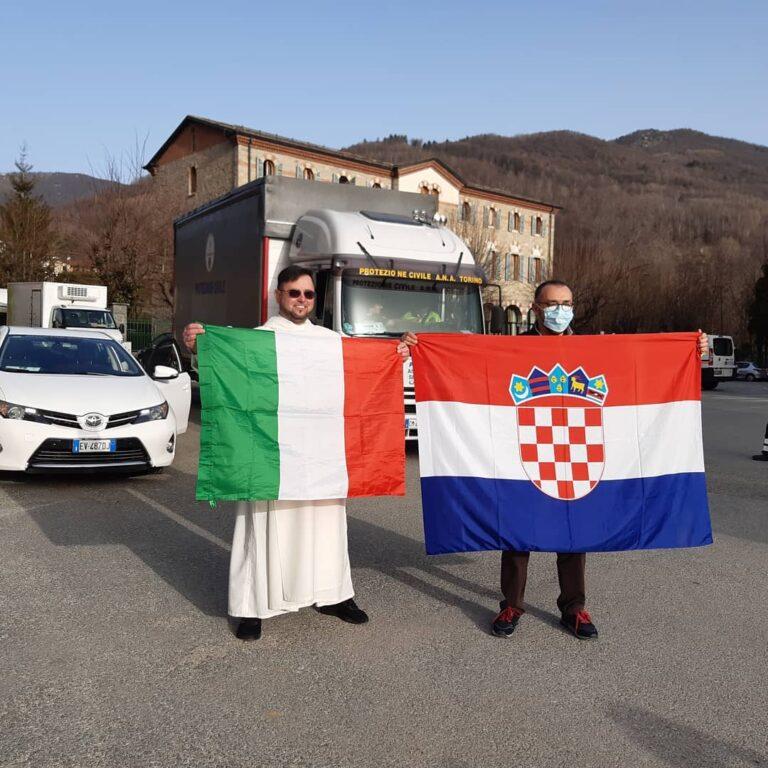 Da Valsusa e Valsangone, 22 bancali di aiuti per la Croazia terremotata