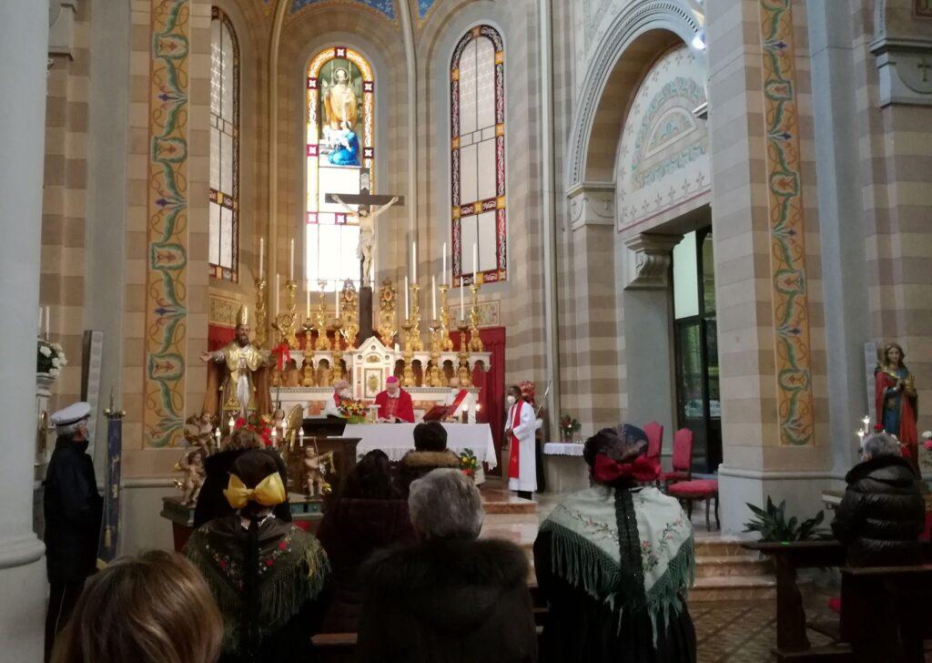 Venaus, Festa di San Biagio con il vescovo Nosiglia