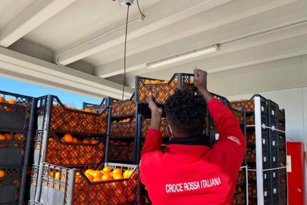 Oltre cinque tonnellate di agrumi dalla Calabria per la Croce Rossa di Giaveno