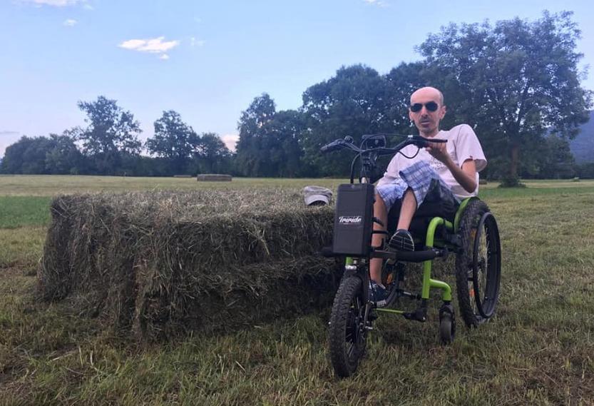 Giaveno, Andrea Bes chiede a gran voce il vaccino per le persone disabili