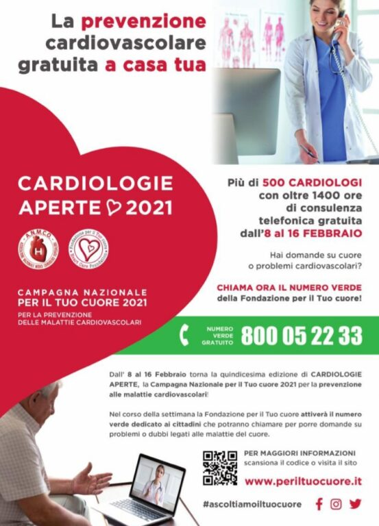 """Questa è la """"Settimana per il tuo cuore"""" a cui aderisce anche la Cardiologia del San Luigi di Orbassano"""