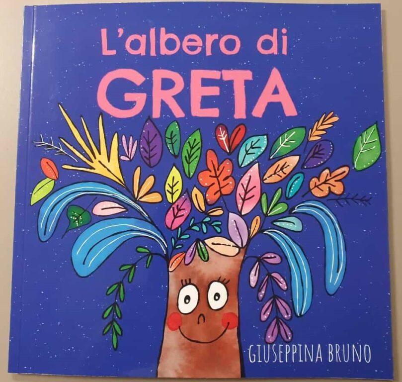 """A Sangano, grazie a Giusy Bruno, è fiorito """"L'Albero di Greta"""""""