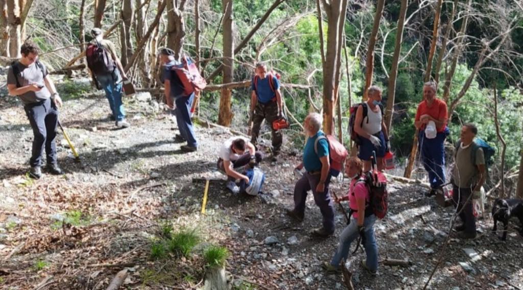 I sentieri di Bussoleno tornano percorribili grazie al lavoro dei volontari