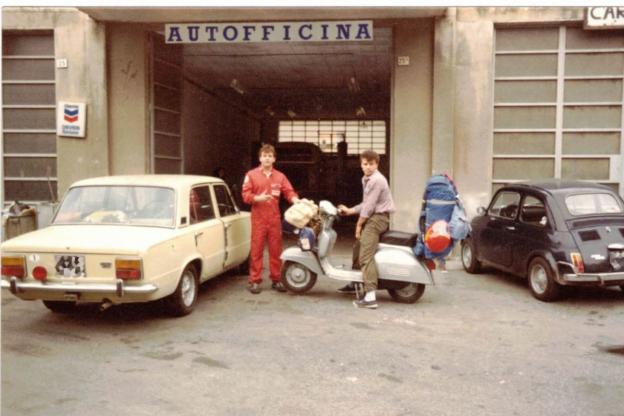 Susa, l'autofficina di Pino Arcieri compie 40 anni