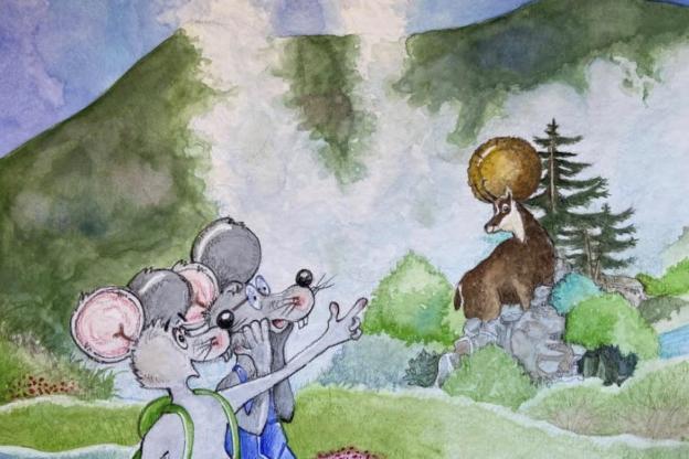 È arrivato Topotoma, un simpatico roditore protagonista di mille avventure
