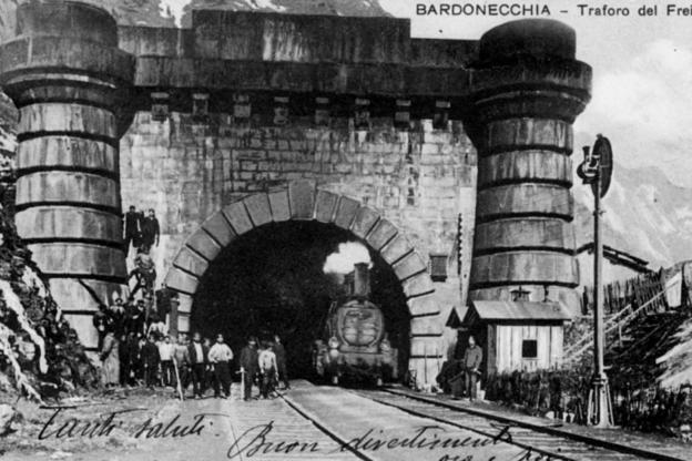 Nel 2021 si ricordano i primi 150 anni del traforo ferroviario del Frejus