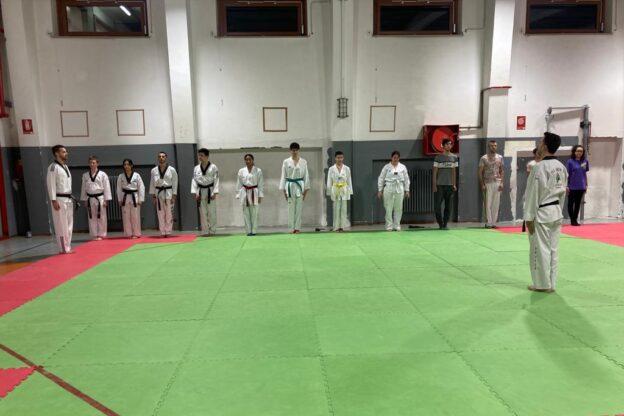 La Taekwondo Dragon di Susa riprende a combattere in palestra