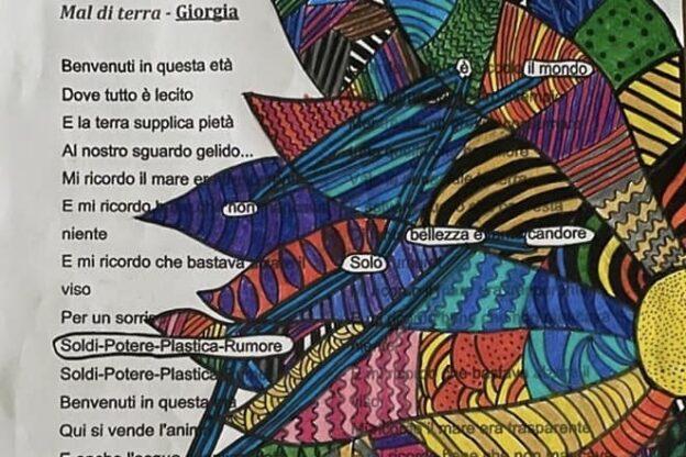 Giaveno, gli studenti del Maria Ausiliatrice emozionano con il Caviardage