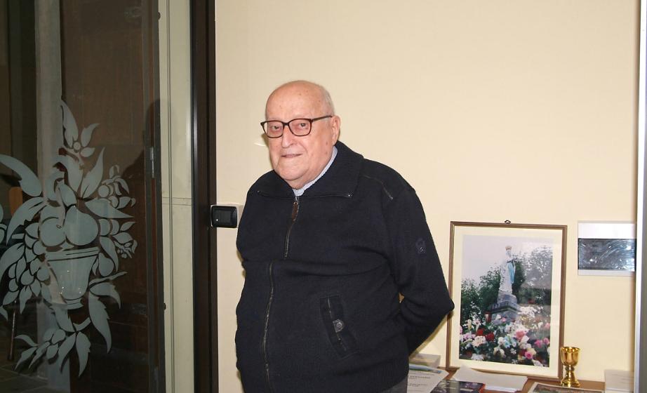 Avigliana, don Giacomo Morgando ha compiuto 93 anni