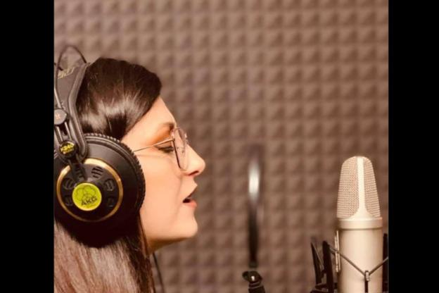 La coazzese Chiara Ceriali e il sogno di diventare cantante