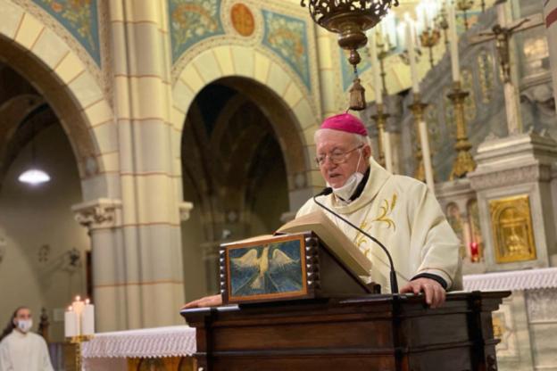 Mons. Nosiglia a sorpresa celebra Messa al Santuario del Selvaggio