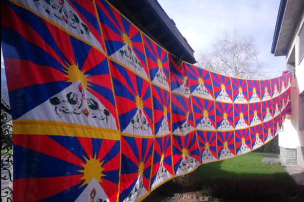 Un angolo di Tibet a Bussoleno grazie a Manuela e Luciano