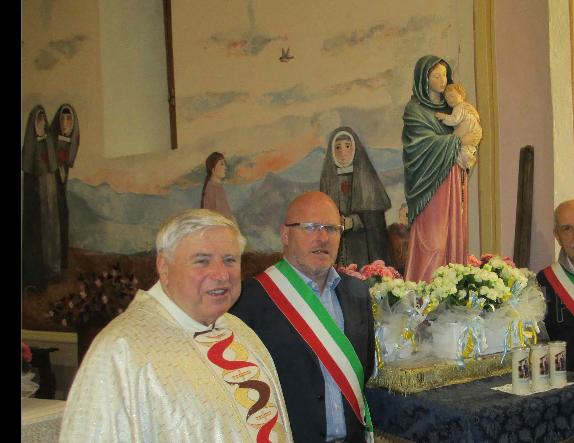 Rubiana vicina a don Sergio Merlo, colpito dal virus