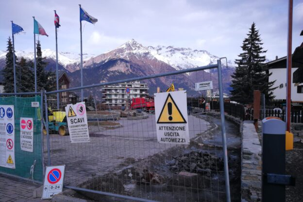 "Un ""restyling"" e nuovi marciapiedi a Sauze d'Oulx"