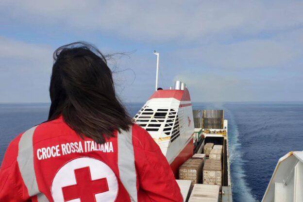 Il viaggio di Lucia: da Giaveno a Gela grazie alla Croce Rossa