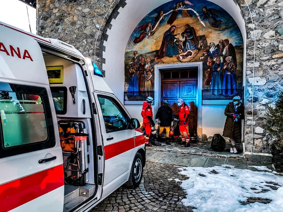 Croce Rossa e Soccorso Alpino in aiuto di quattro migranti dispersi in Alta Val di Susa