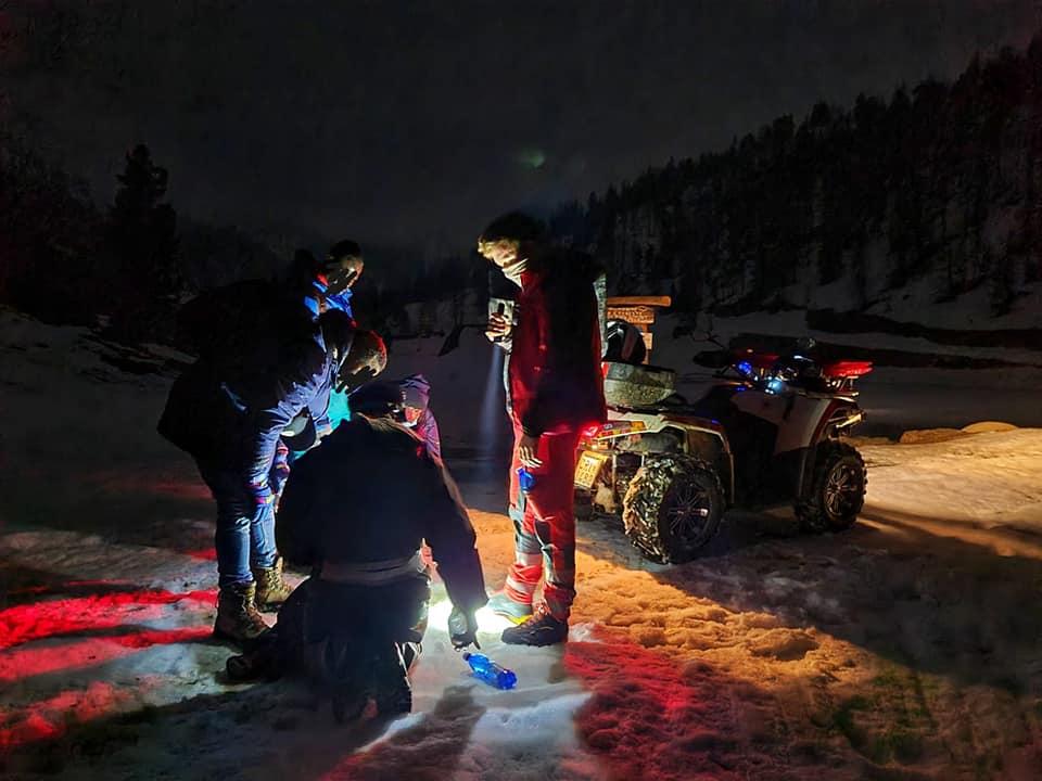 Altri migranti soccorsi nella notte in Alta Val di Susa, al confine con la Francia