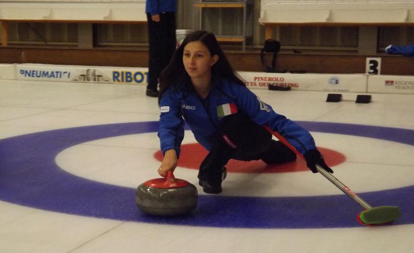 La giavenese Denise Pimpini, dalla Danza alla Serie A di Curling