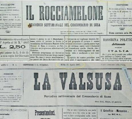 Il primo numero de La Valsusa (Il Rocciamelone) usciva 124 anni fa