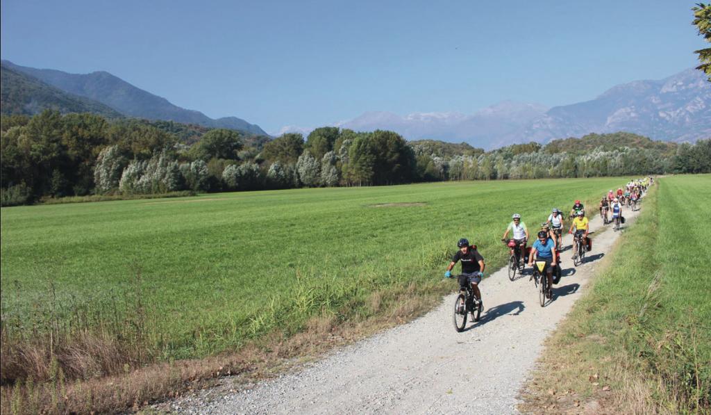 """Da Susa partirà """"La Pellegrina"""" Bike Marathon"""