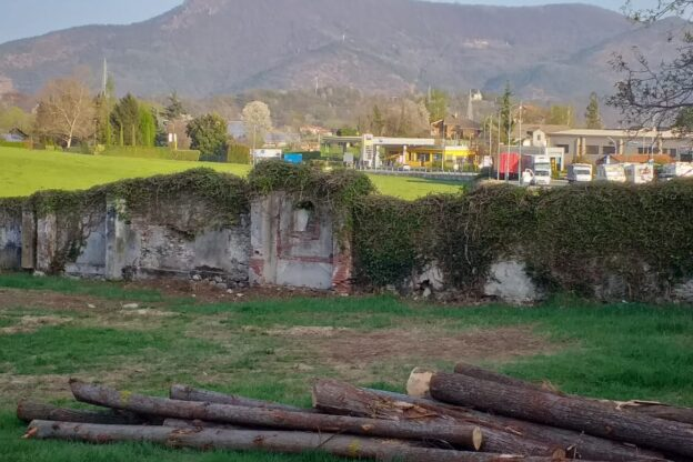 I muri del vecchio cimitero di Giaveno non possono essere restaurati?