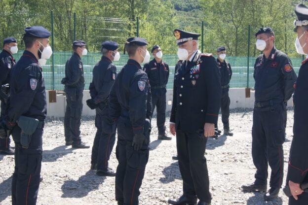 Il comandante generale dei Carabinieri in visita a San Didero