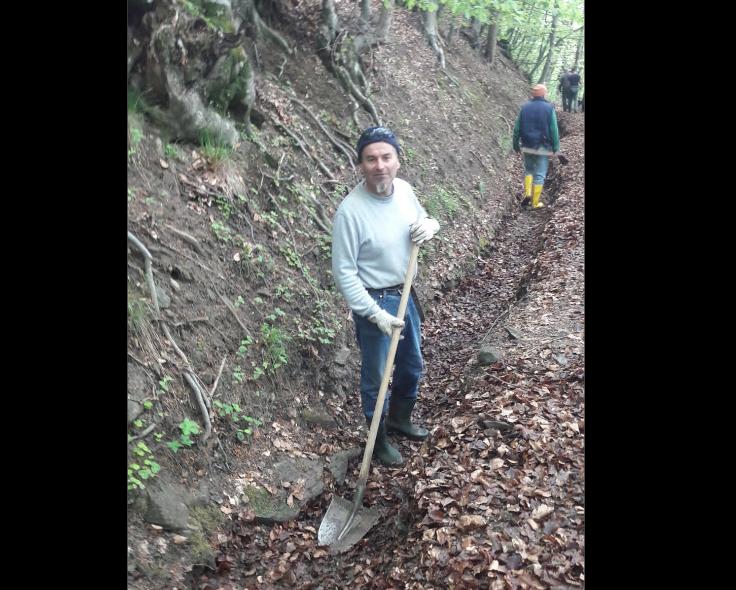 A Chianocco i volontari sistemano la rete irrigua