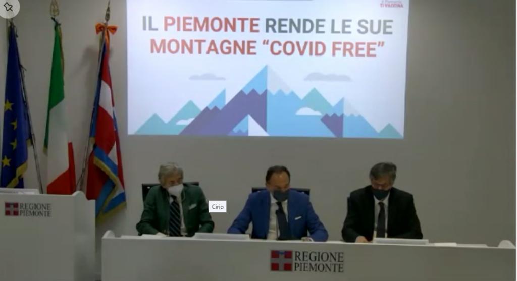 Le montagne del Piemonte come le piccole isole: saranno covid- free