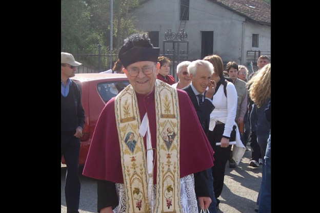 Coazze, don Giacinto Masera compie 90 anni