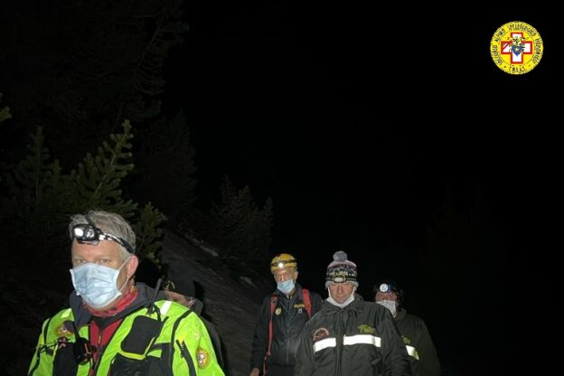 Bardonecchia, migrante salvato dai soccorritori dopo essere caduto in un nevaio