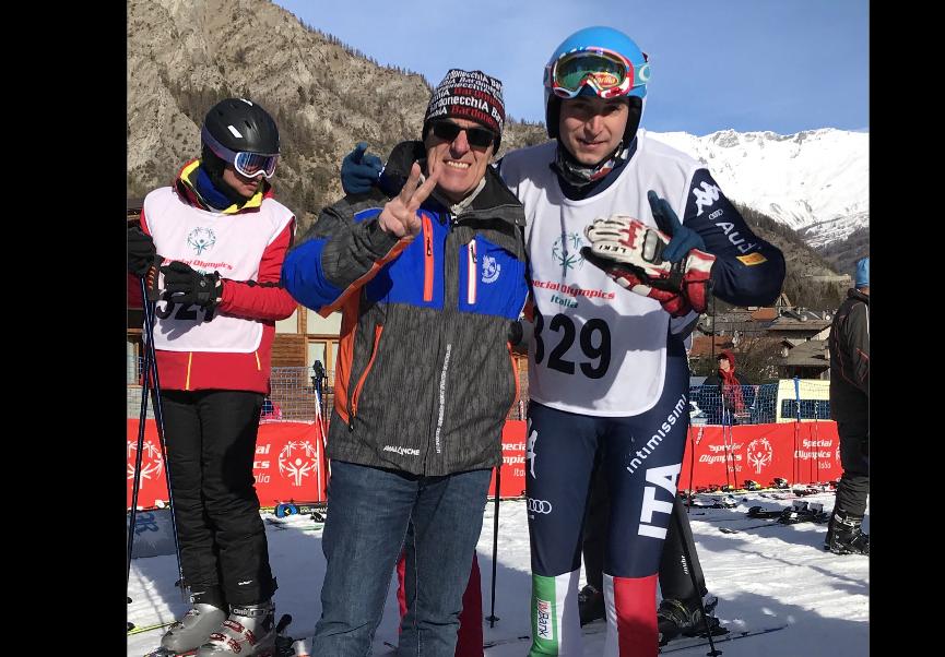 Luca Vergnano dell'Au.Di.Do. di Alpignano agli Special Olympics in Russia