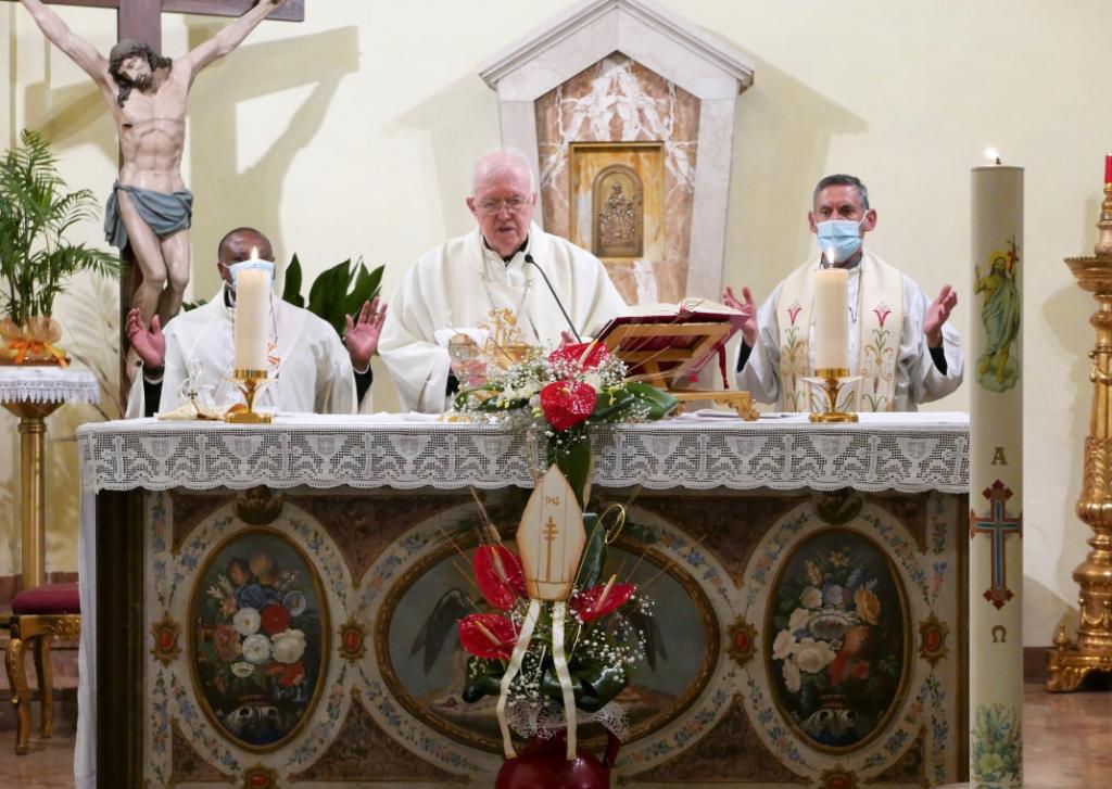 Mons. Cesare ha visitato le parrocchie della Vicaria di Almese