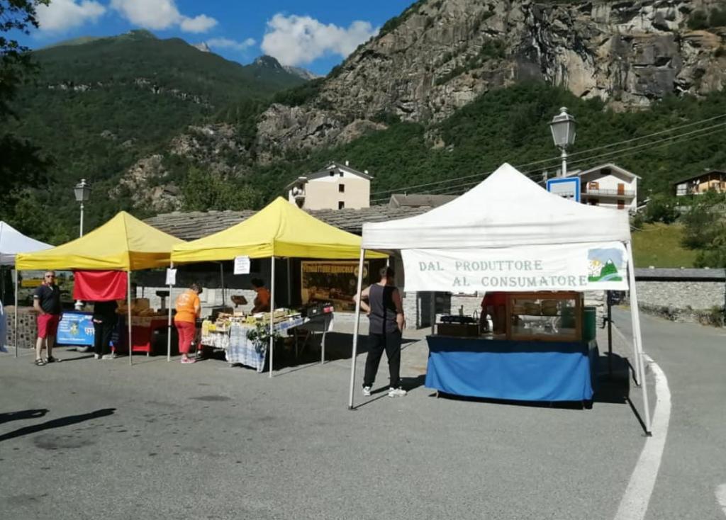 A Novalesa torna il Mercatino dei prodotti agricoli e artigianali