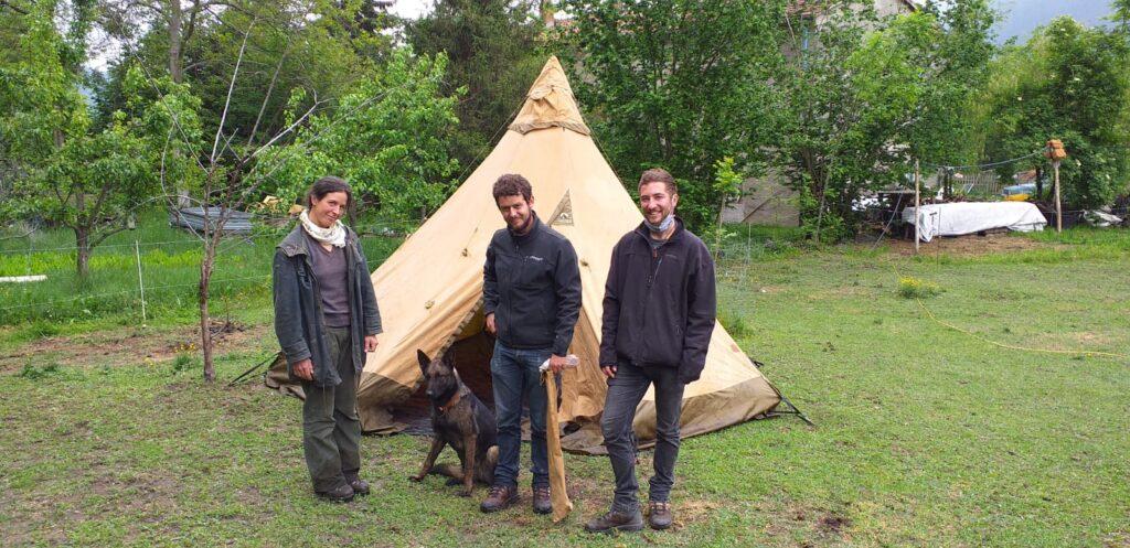 Dalla Francia alla Mongolia in bici, con tappa in Val di Susa: il viaggio di due ragazzi francesi