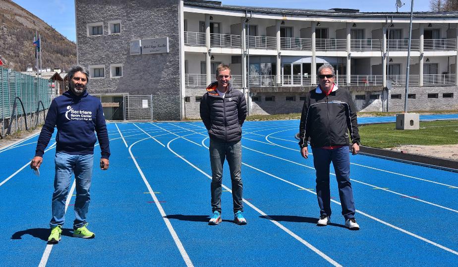 Sondre Moen si allena a Sestriere per le Olimpiadi di Tokyo