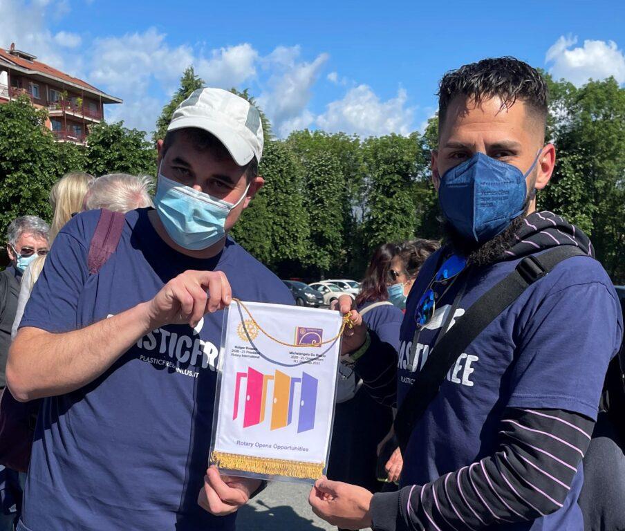 Alpignano, l'avventura di Maurizio Girodo in viaggio per Roma