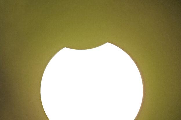 Osservata l'eclissi solare anche in Val di Susa