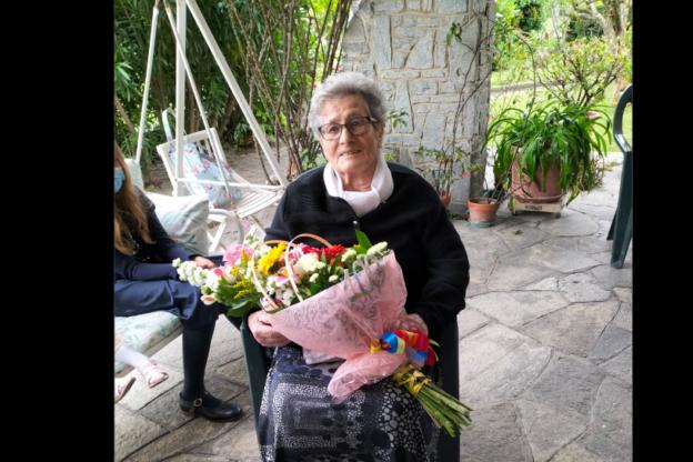 Sant'Antonino in festa per i cento anni della signora Anita Bounous